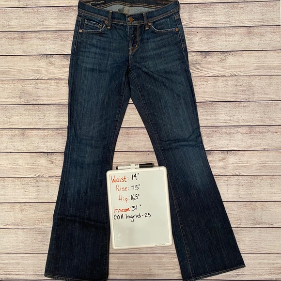 Citizens Of Humanity Denim - Citizens of Humanity Ingrid Pacific Blue 25